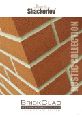 View our latest BrickClad® Rustic brochure (Online PDF/page turning viewer)